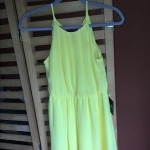 By&by new with tags yellow mini sundress size XS